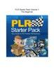 Thumbnail PLR Starter Pack Volume 1 - The Beginner(Part of a set of 3)